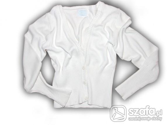 Swetry Biały kardigan