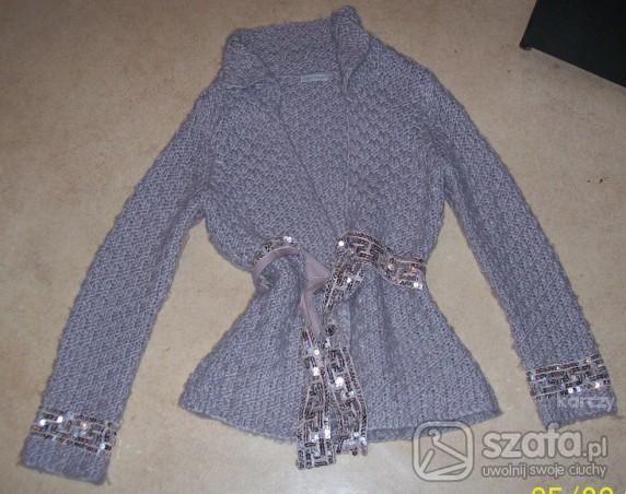 Swetry sweterek z cekinami