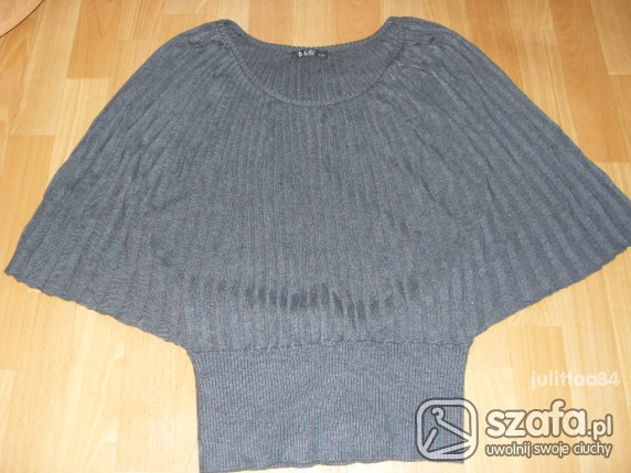Swetry Szary nietoperz nowy