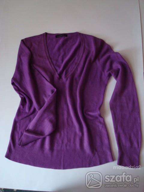 Swetry Fioletowy sweterek NEXT