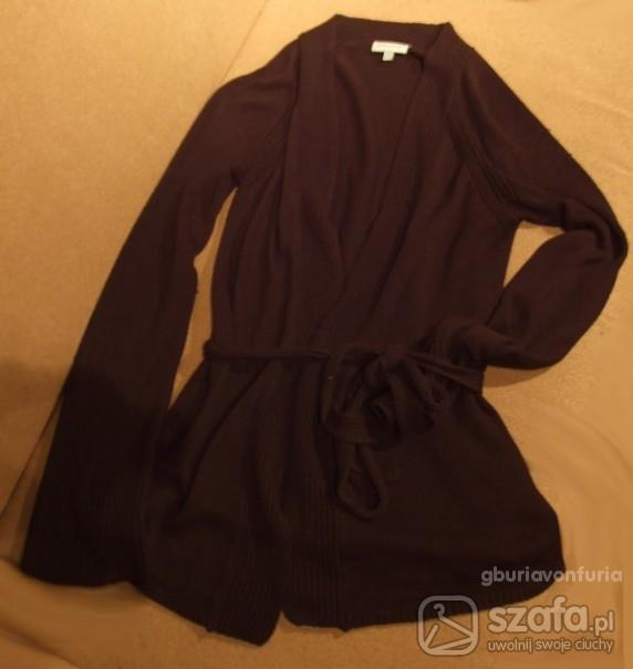 Swetry czarny wiązany