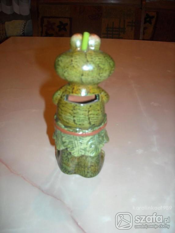 Zabawki skarbonka żabka