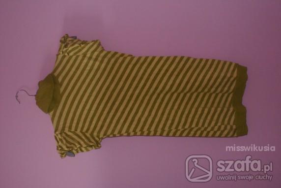 Swetry Tunika sweterek cropp