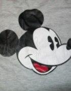 szary t shirt z mickey mouse...