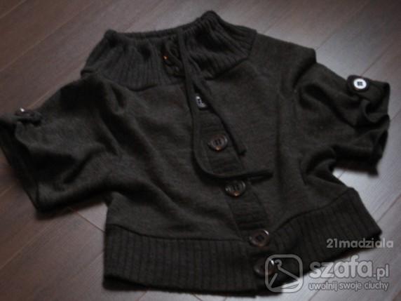 Swetry ciemnoszary grzybek