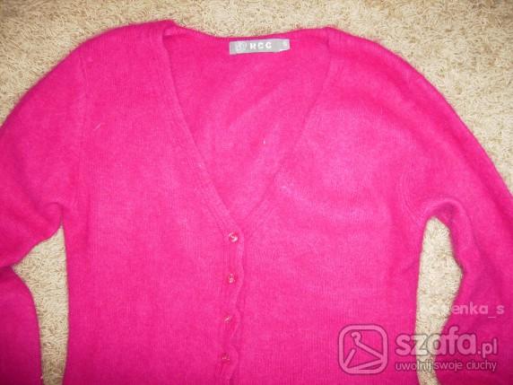 Swetry super różowy sweterek 36 38