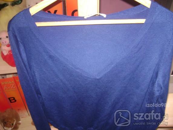 Swetry Niebieski swetrek M George