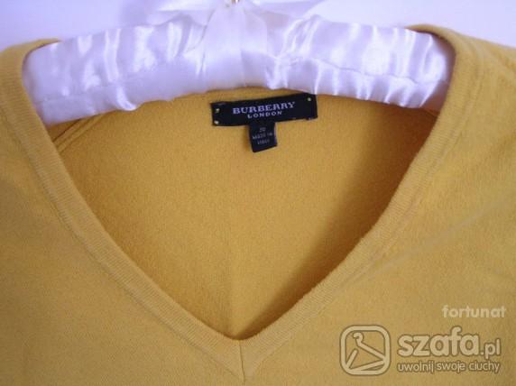 Swetry Słoneczny Burberry S z przesyłką