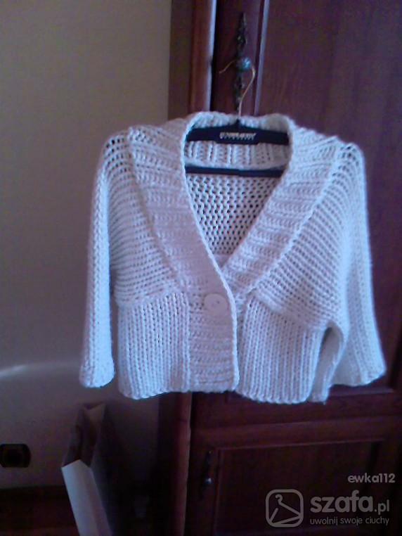 Swetry sweterek bolerko