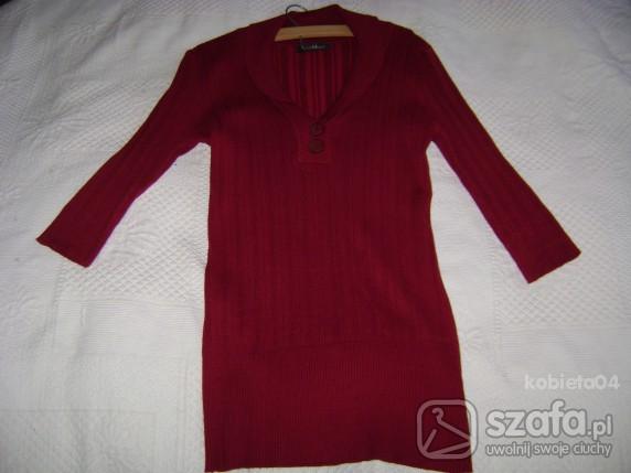 Swetry Dłuższy sweterek