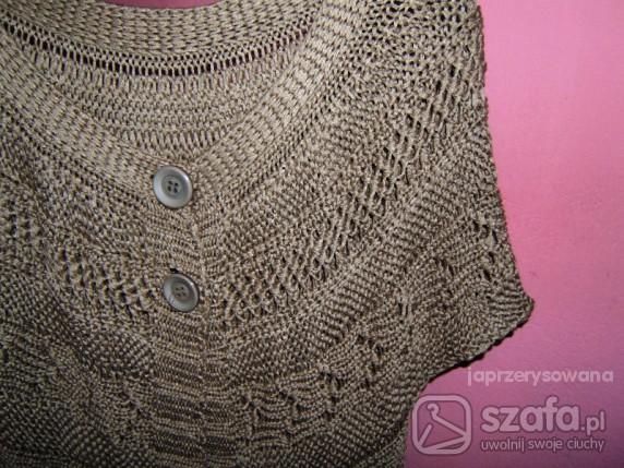 Swetry kardigan długi kamizelka zakrywająca biodra