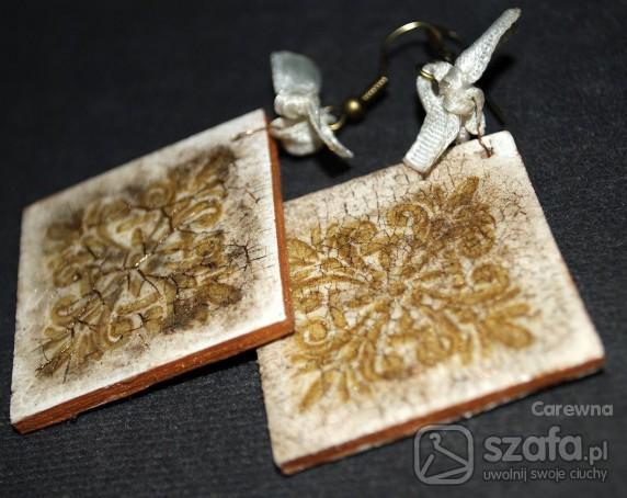 Handmade Kolczyki ala stare