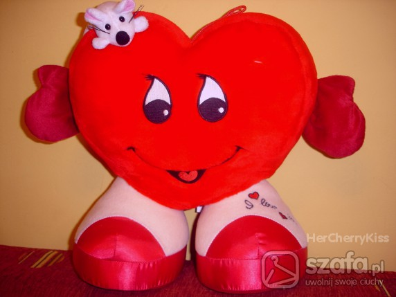 Zabawki Wielkie Serce Mięciutkie futrzane
