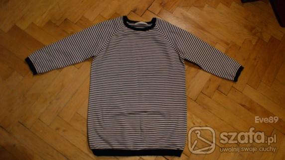 Swetry sweter w paski zara