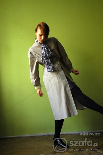 Mój styl płaszcz ekshibicjonistki
