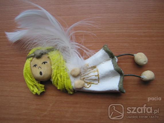 Zabawki 3 aniołki hand made