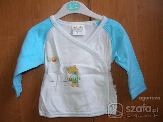 Koszulki, podkoszulki koszulka kaftanik dla niemowlaka