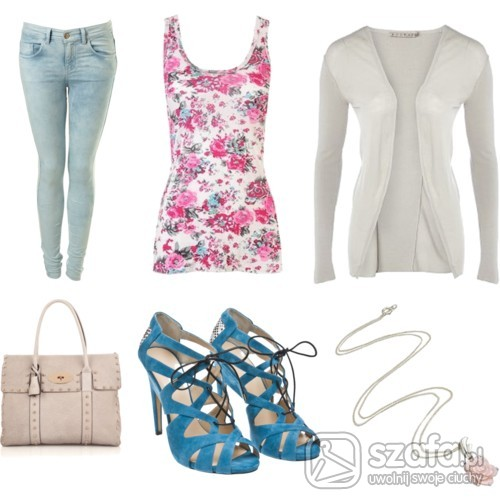 Mój styl Floral and jeans