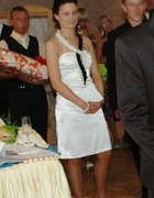 sukienka z perlami