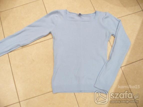Swetry Sweterek błękitny Camieu