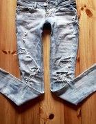 DIY ripped acid wash jeans...