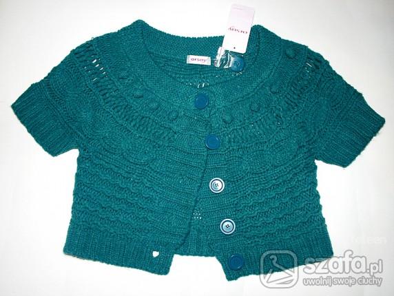 Swetry Morski seterek grzybek bolerko Orsay nowy