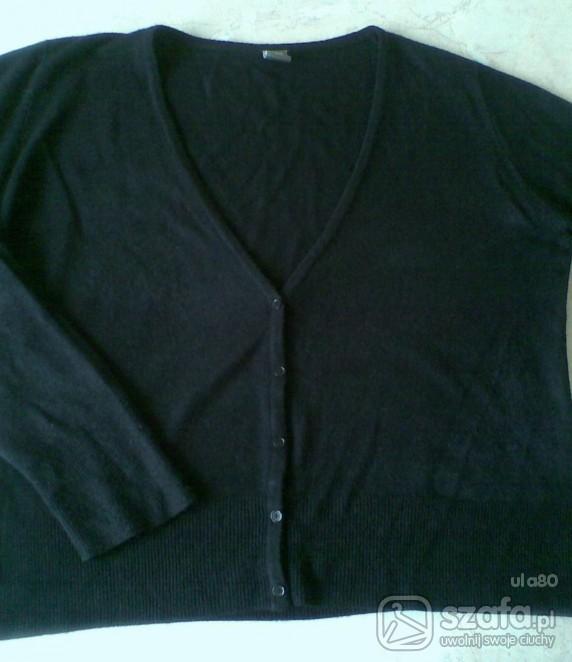 Swetry kardigan czarny xl xxl WYMIANA
