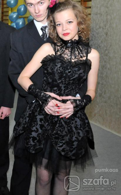 Wieczorowe Gothic Wictorian Sukienka