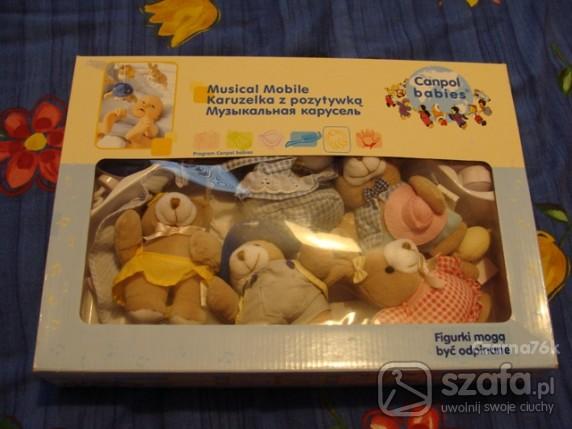Zabawki Karuzela z pozytywka Canpol Babies
