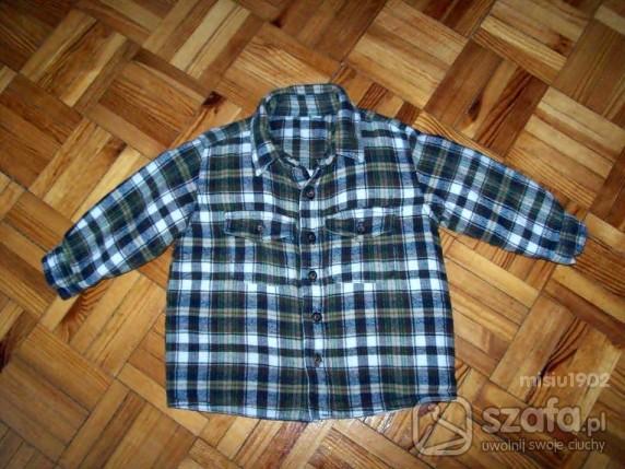 Koszulki, podkoszulki Fajna podcieplana koszula lub bluza 68