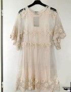 Sukienka z zary