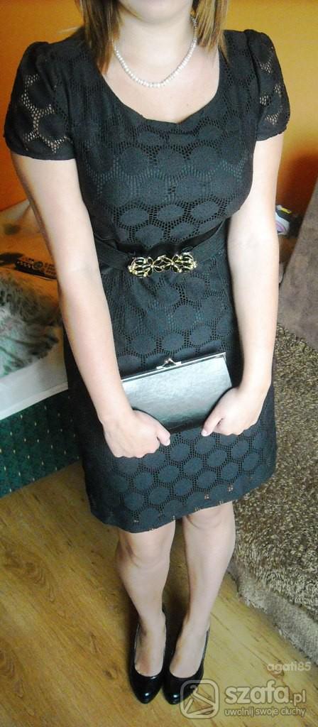 Eleganckie Sukienka z sh