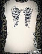 Bluzeczka ze skrzydłami