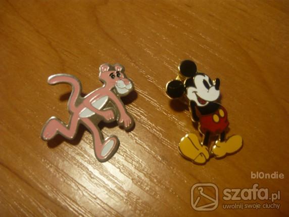 Pozostałe zabawna przypinka pin różowa pantera