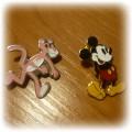 zabawna przypinka pin różowa pantera