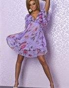 Fioletowa sukieneczka