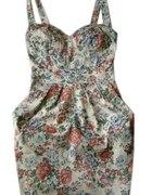 sukienka kwiaty L