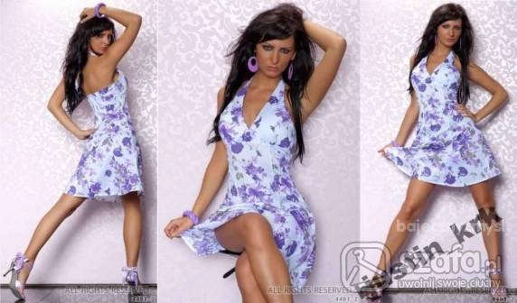 Romantyczne Kwiecista sukieneczka