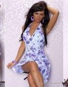 Kwiecista sukieneczka