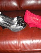 moje buciki na koturnach
