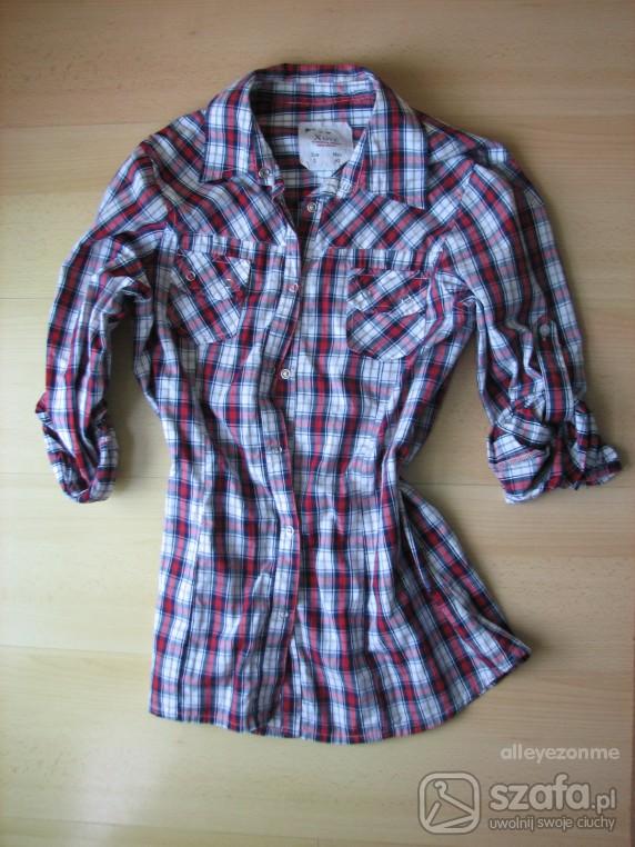 Koszula w kratę Pull Bear