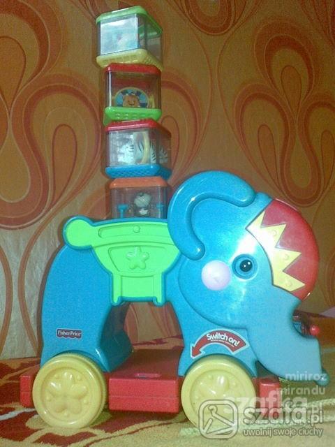 Zabawki slonik FISHER PRICE