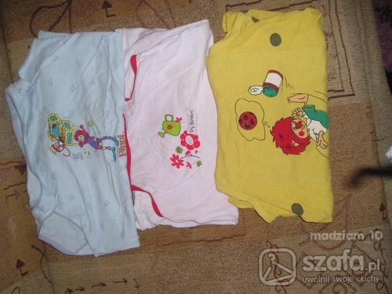 Koszulki, podkoszulki 3 koszulki OKAZJA
