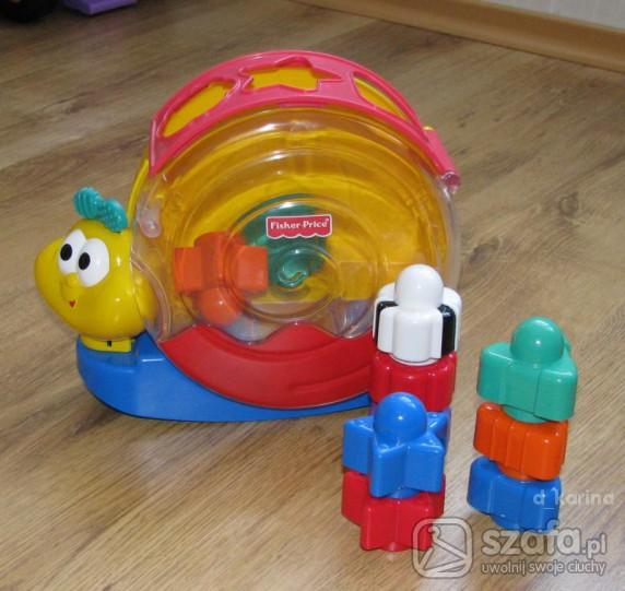 Zabawki ŚLIMAK SMAKOSZ KLOCKÓW
