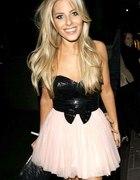 LIPSY słodka różowa suknia gwiazd