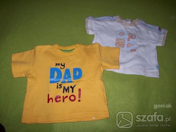 Koszulki, podkoszulki 2 super koszulki 0 3mc