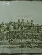 Apaszka Tower Of London Vintage Retro