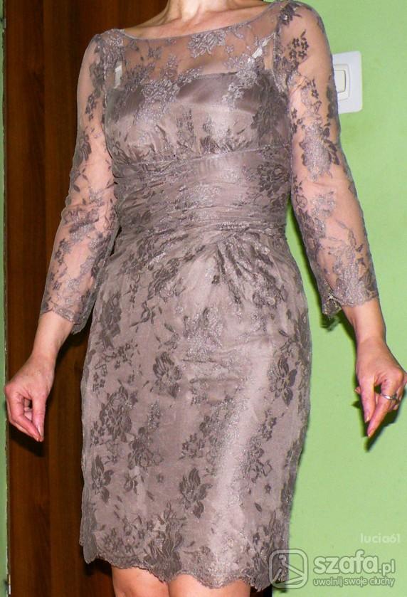 79bafd660c cudowna sukienka z elastycznej koronki XSS w Suknie i sukienki ...