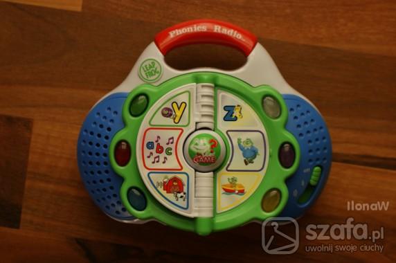 Zabawki Radio alfabet po angielsku