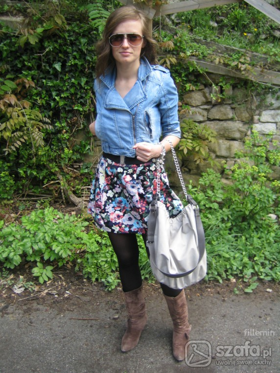 Codzienne floral and jeans